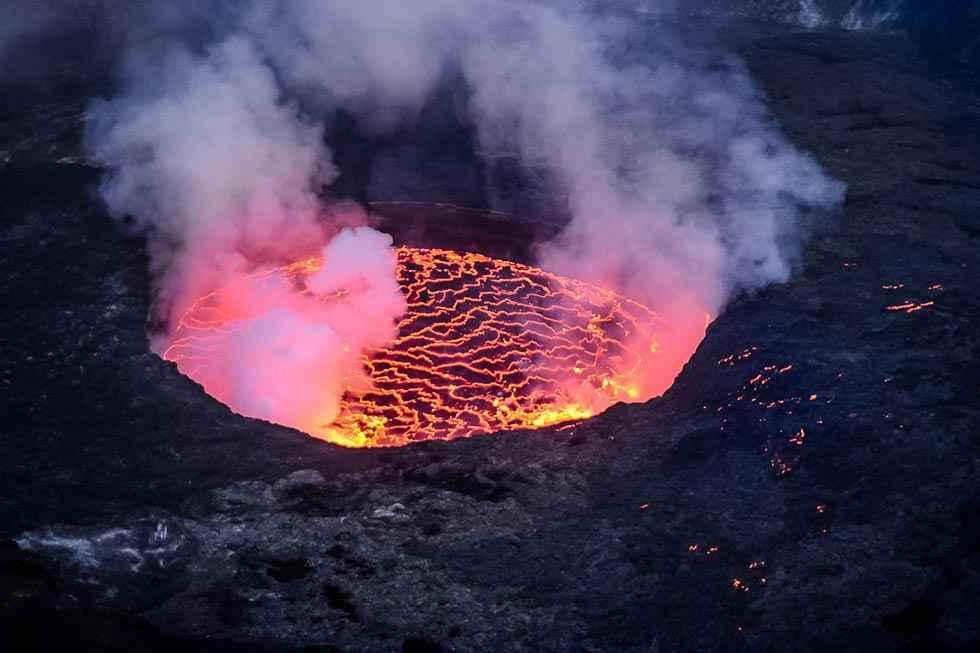 Los volcanes más activos del mundo