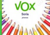 Vox recoge material escolar para desfavorecidos