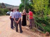 De Gregorio escucha a afectados por inundaciones en Espejón
