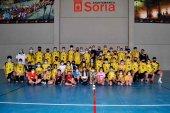 La cantera del BM Soria regresa a los entrenamientos