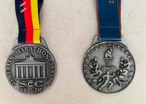Dos medallas para la historia