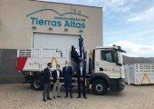 La Junta financia nuevo camión de recogida de residuos