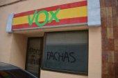 El PP condena los actos vandálicos en sede de Vox