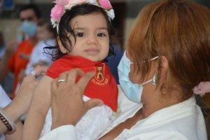 Ólvega: pañuelos de fiestas para niños de 2020 - fotos