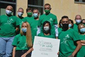 """""""Marea verde"""" en Caja Rural con fines solidarios"""
