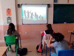 Cuarentena en cinco aulas en el inicio del curso
