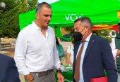 Ortega Smith se reúne con afiliados de Vox