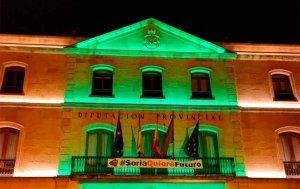 De verde, en el Día Mundial del Alzheimer