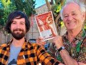 El actor Bill Murray, con Torreznos de Soria