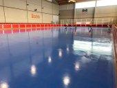 Fin de mejora de pista de patinaje del San Andrés