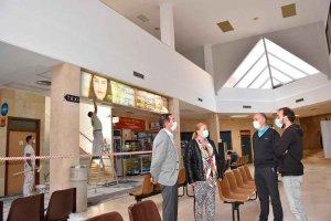 La Junta avanza en reparación de estación de autobuses