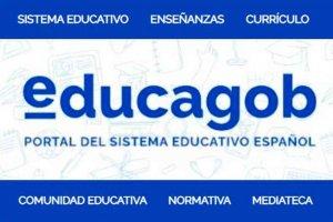 """""""educagob"""": el nuevo portal del sistema educativo español"""