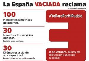 La España Vaciada pide equilibrio territorial