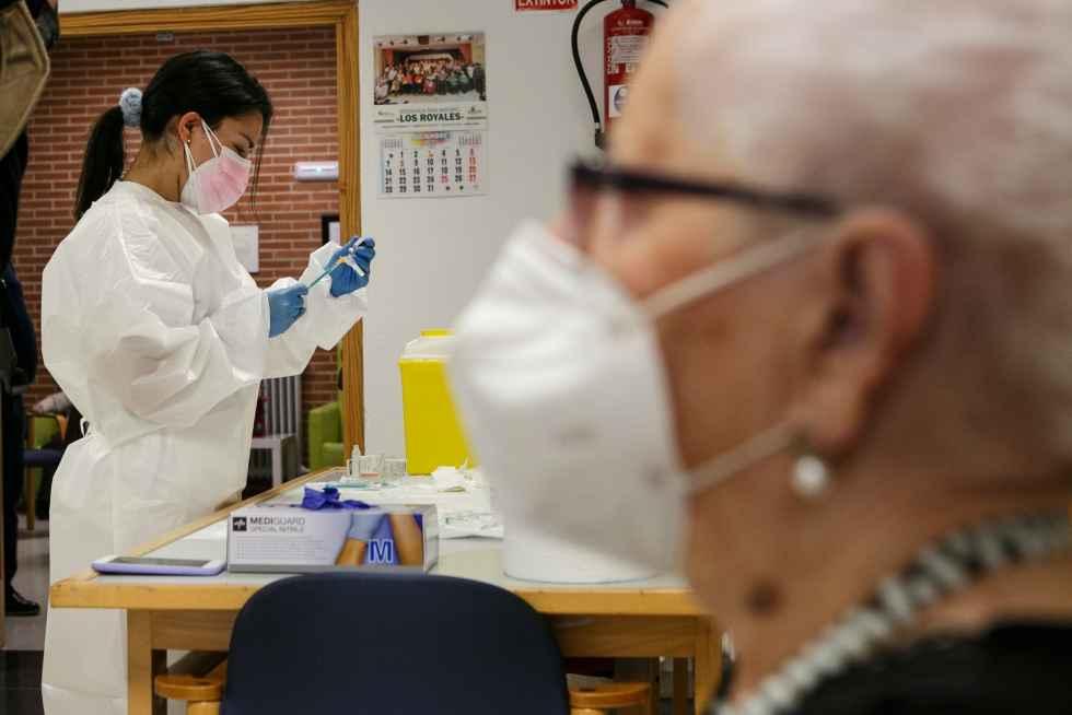 La Junta no solicita nuevas dosis de vacuna