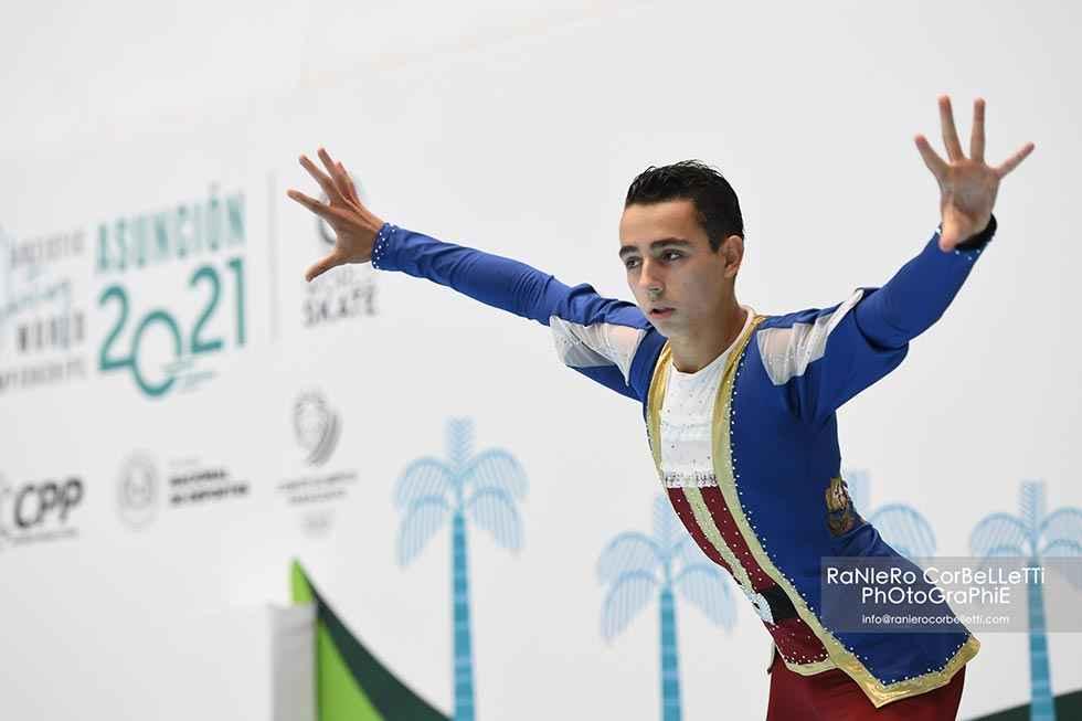 Héctor Díez, subcampeón del Mundo de Patinaje Artístico