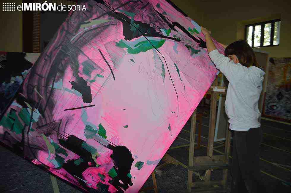 Exposición de las obras del I Simposio de Arte