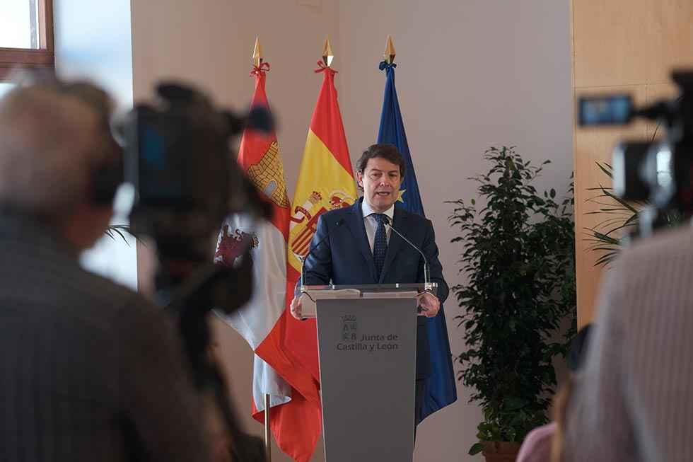 Mañueco anuncia medidas contra pobreza energética