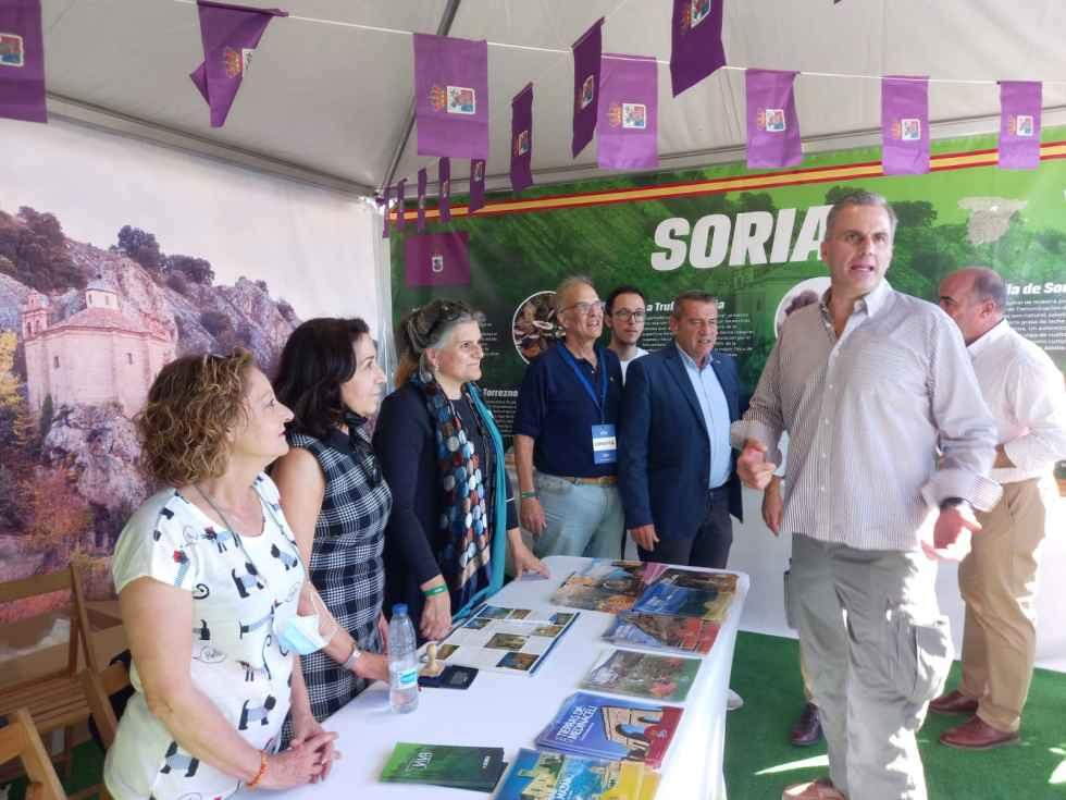 Vox Soria participa en Viva España 21