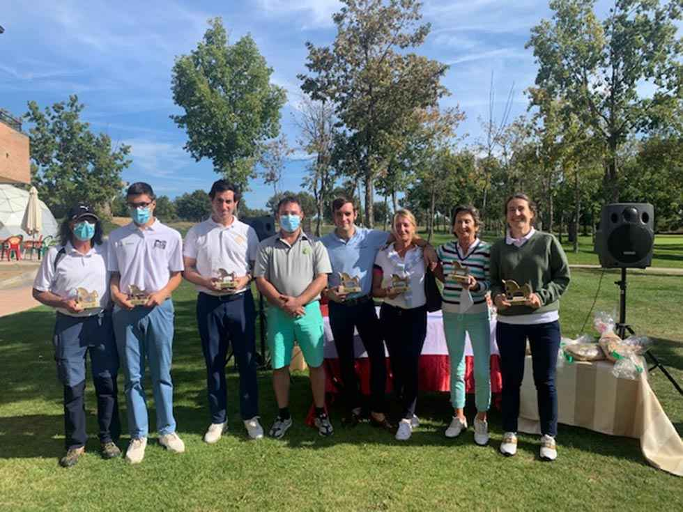 Sesenta participantes en Torneo de Golf de Otoño