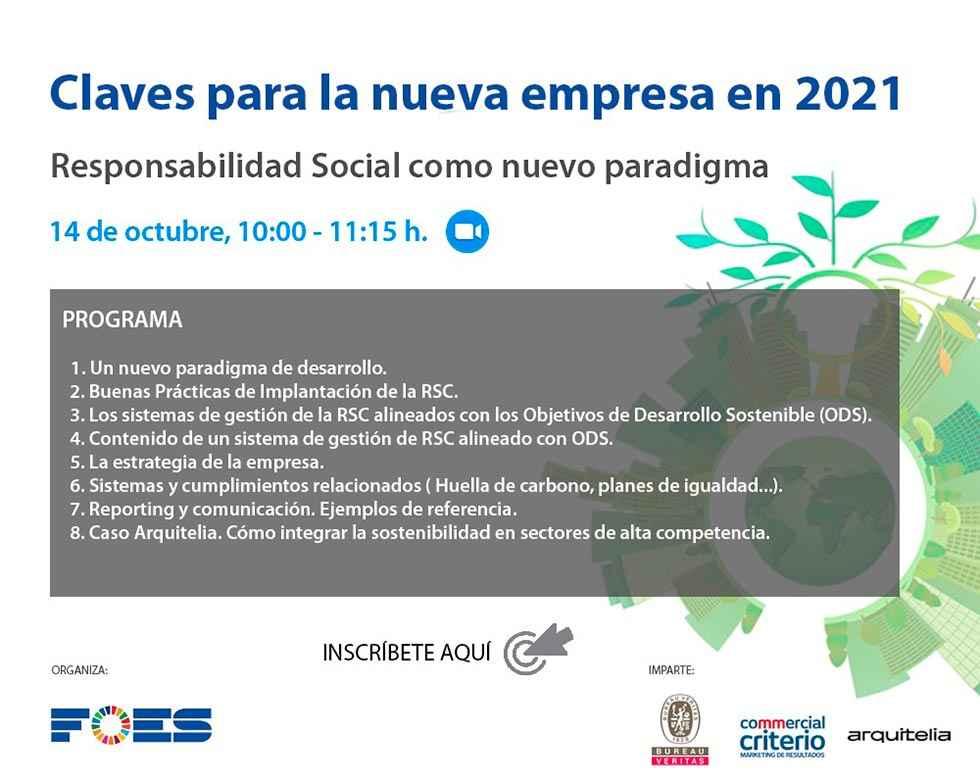 FOES promueve la Responsabilidad Social Empresarial