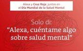 Cruz Roja llama a la población a cuidar su salud mental