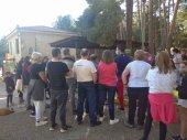 Protesta de propietarios de caravanas en camping Urbión