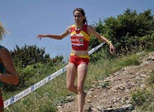 Yolanda Martín, con la selección española