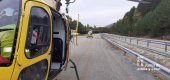 Ciclista herido en estación de esquí de La Pinilla