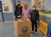 Guarderias recogen productos infantiles para el BALSO