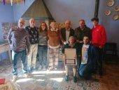 Donata Crespo, nueva centenaria de Cueva de Ágreda